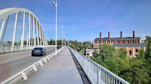 Puente del Centenario y Museo de la Energia en Ponferrada