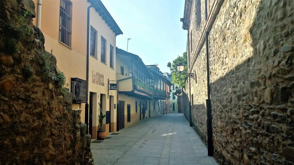 Zona Antigua en Ponferrada.
