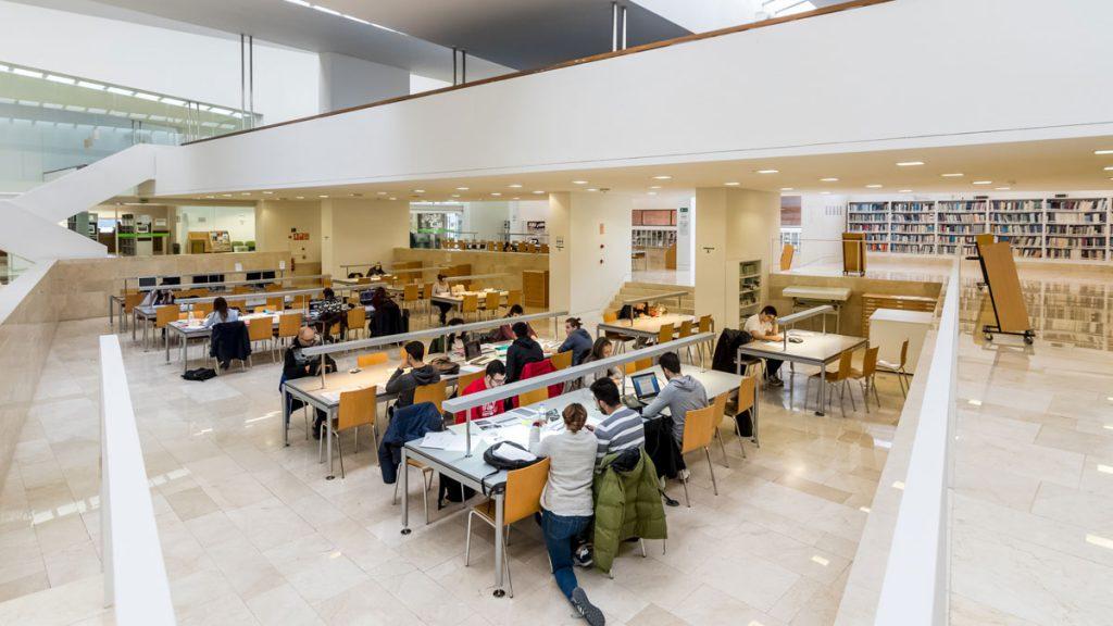Biblioteca Universidad de Ponferrada